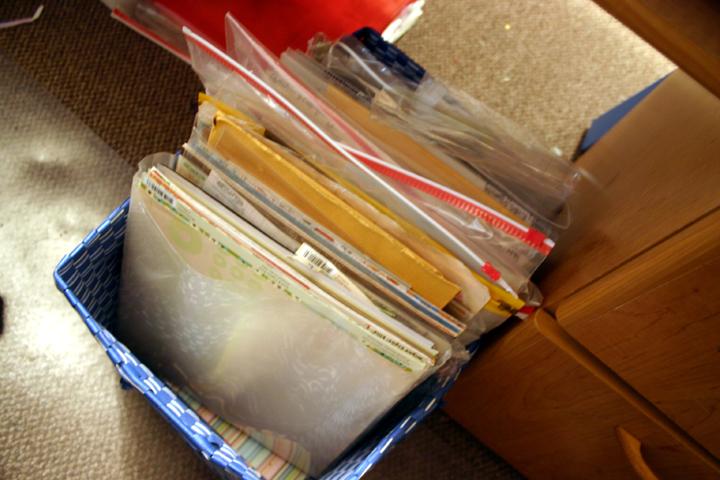 Underdesk storage